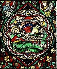 Weihnachtsfenster aus dem Kölner Dom