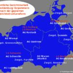 Neuordnung der Amtsgerichte in Mecklenburg-Vorpommern
