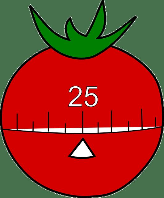 Arbeiten mit der Tomate