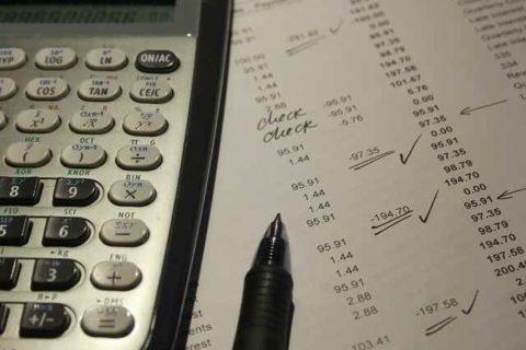 Die beantragte Bilanzänderung - und die noch nicht geänderte Bilanz