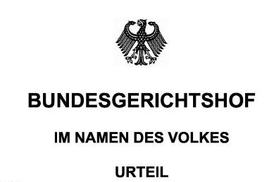 Neuer Strafsenat des Bundesgerichtshofs in Leipzig