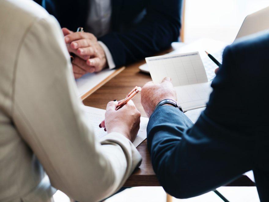 Das Rechtsgespräch in der Verhandlungspause