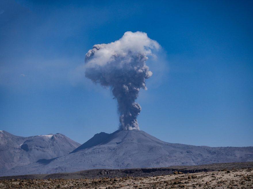 Reisekündigung - wegen Vulkanausbruch