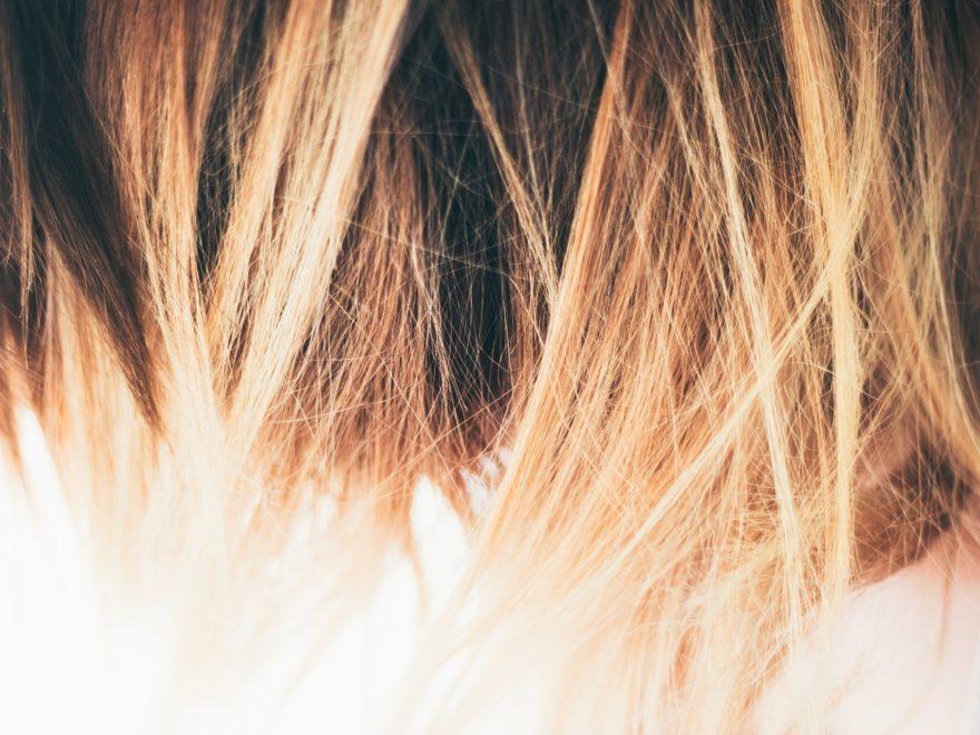 Die dottergelben Haare