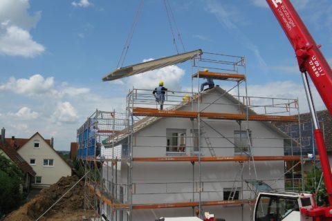 Errichtung eines Erweiterungsbaus - und der gewerbliche Grundstückshandel