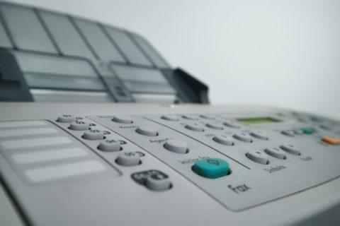 Das Fax von der Autobahnraststätte