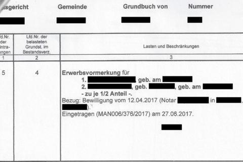 Erbengemeinschaft - und die Grundbuchvermutung des § 891 BGB