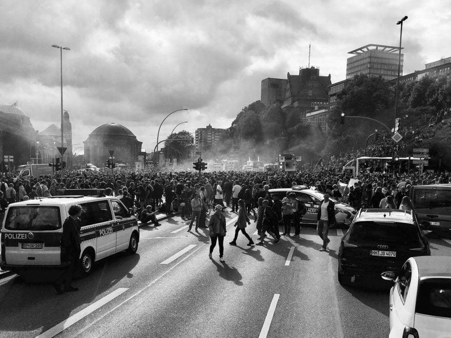 Ingewahrsamnahme von Demonstranten in Hamburg - und die Rechtsbeschwerde