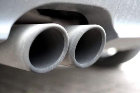 Der vom Abgasskandal betroffene VW mit Audi-Motor