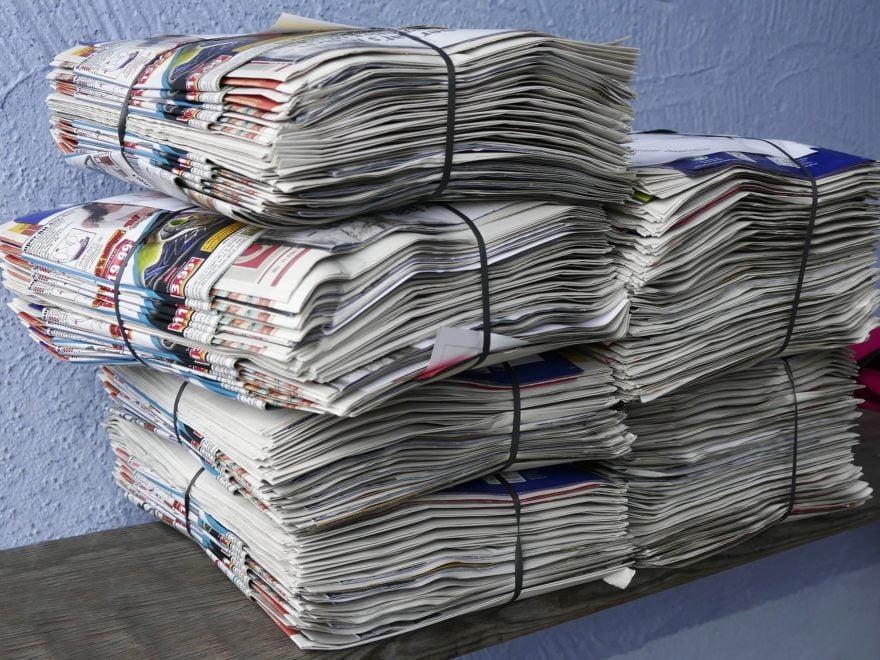 Untersagungen gewerblicher Altpapiersammlungen