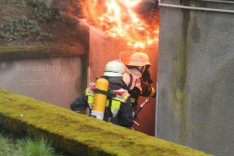 Der vorbestrafte Feuerwehrmann