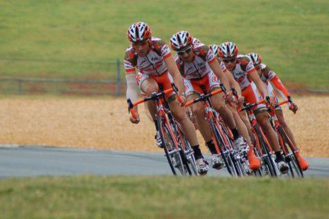 Die Trainingsfahrt von Fahrradfahrern - und die Haftung