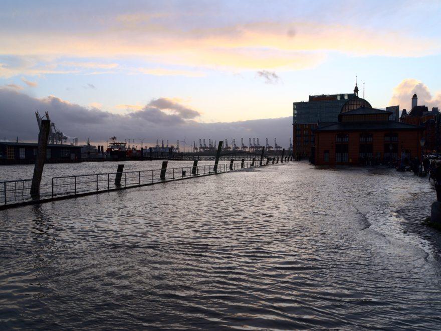 Sturmflut -  und die Versicherung für Überschwemmungsschäden