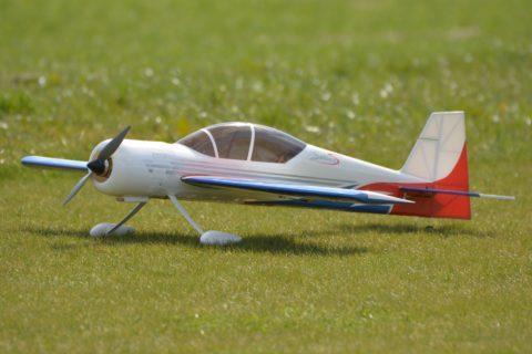 Modellflugzeuge im Naturschutzgebiet