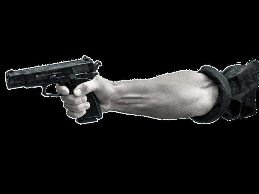 Der Räuber und die geladene Gasdruckpistole