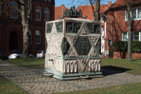 Hildesheim, Mahnmal für die Jüdische Synagoge am Lappenberg