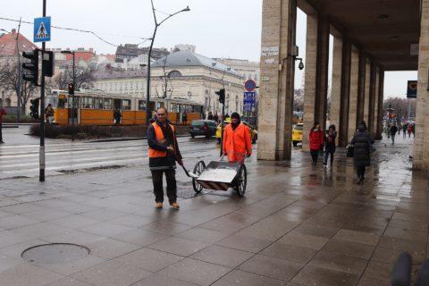 Straßenreinigung, Winterdienst