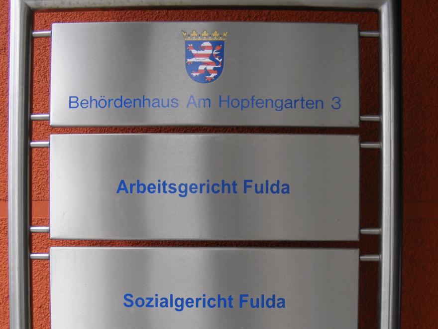 Fulda - Behördenhaus Am Hopfengarten 3