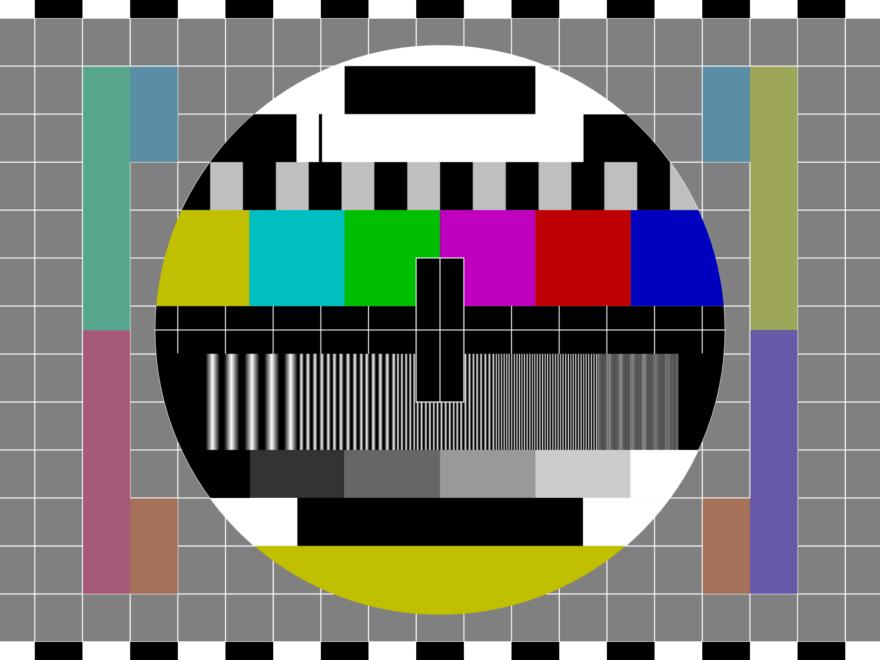 Fernseh-Testbild