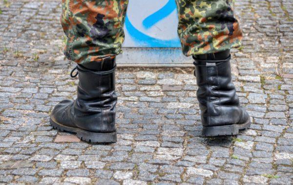 Bundeswehrstiefel