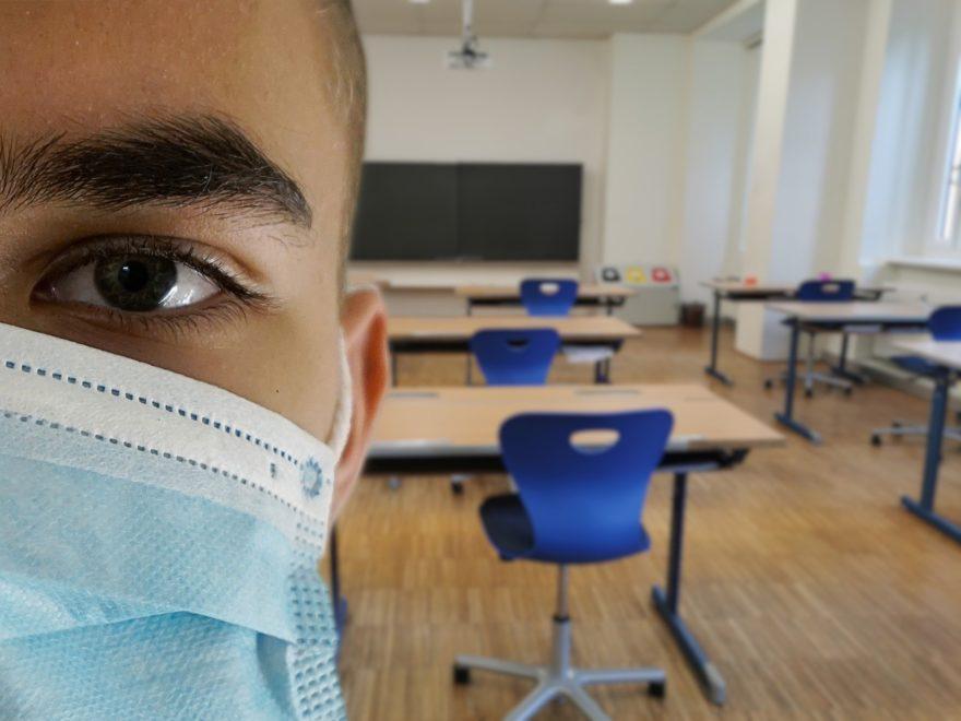 Maskenpflicht an Brandenburger Gymnasien